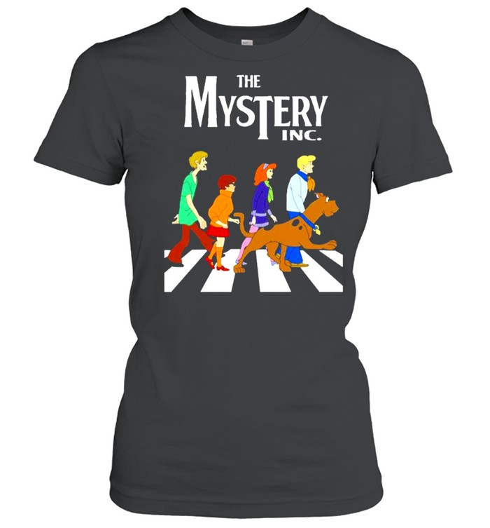 the mystery inc abbey road shirt classic womens t shirt