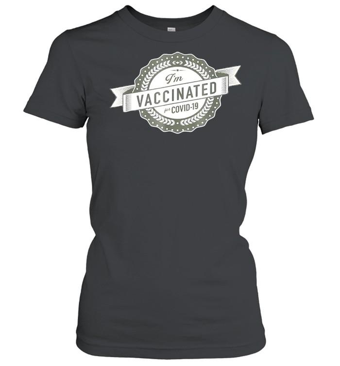 im vaccinated shirt classic womens t shirt