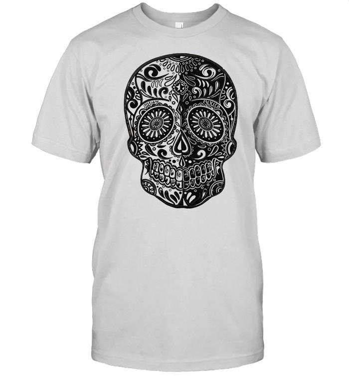 Sugar skull shirt Classic Men's T-shirt