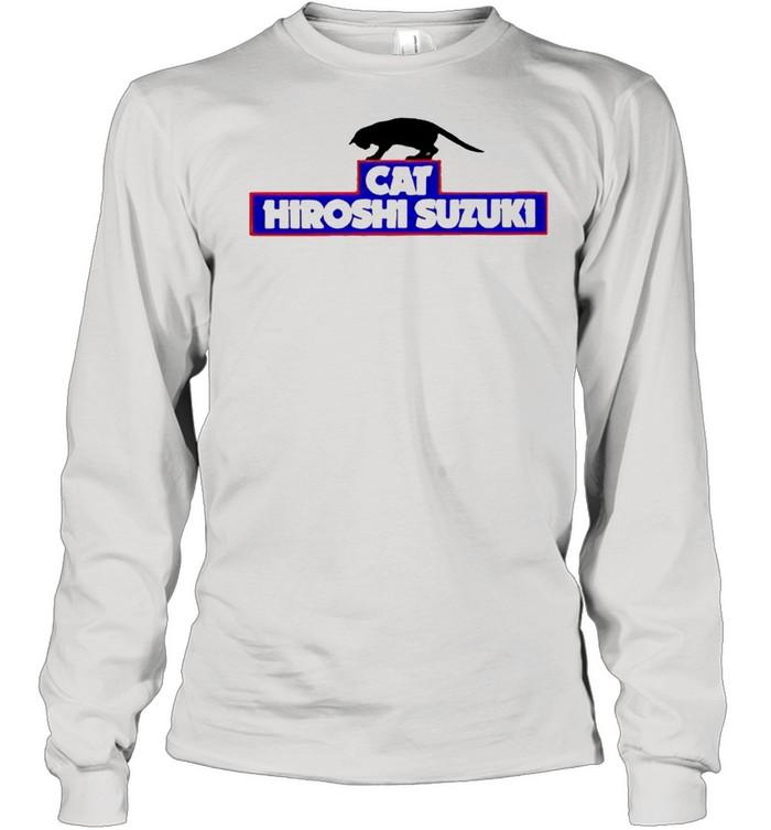 cat hiroshi suzuki shirt long sleeved t shirt