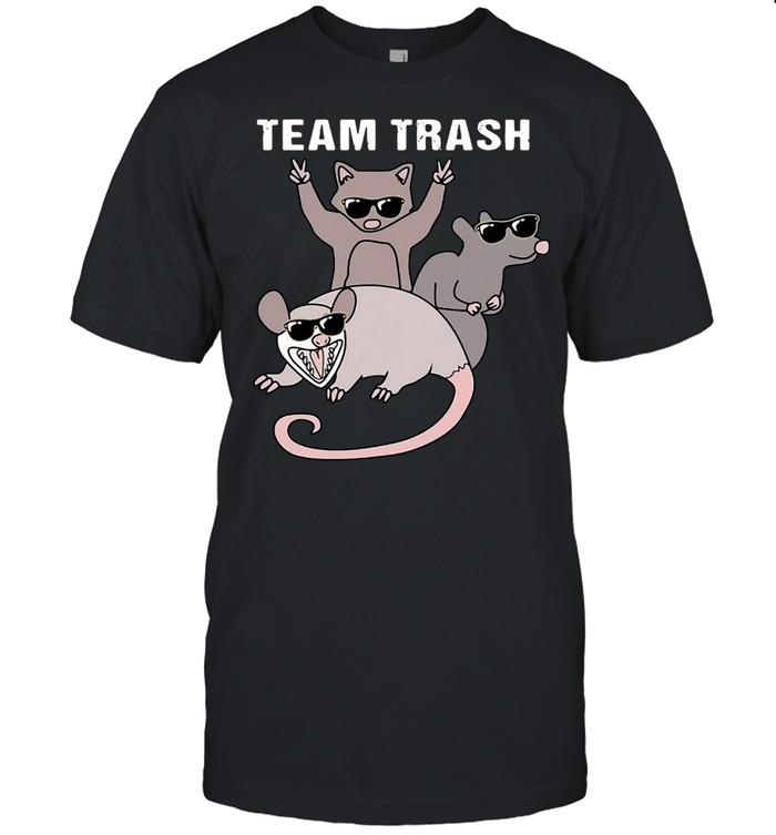 Possum Team Trash Opossum Raccoon Rat T-shirt Classic Men's T-shirt
