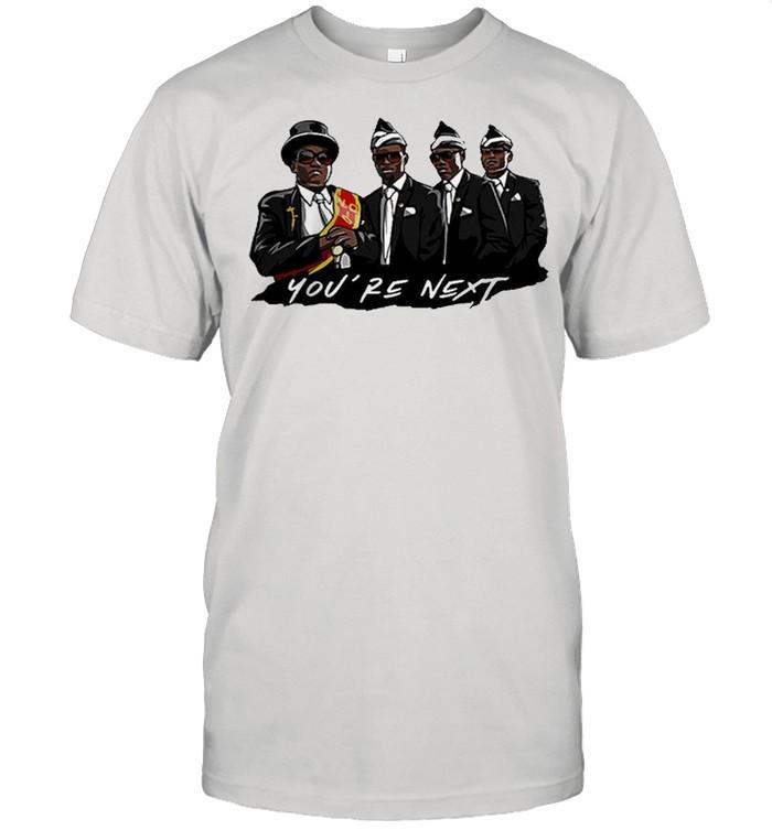 Nice Ghana dancing pallbearers youre next shirt Classic Men's T-shirt