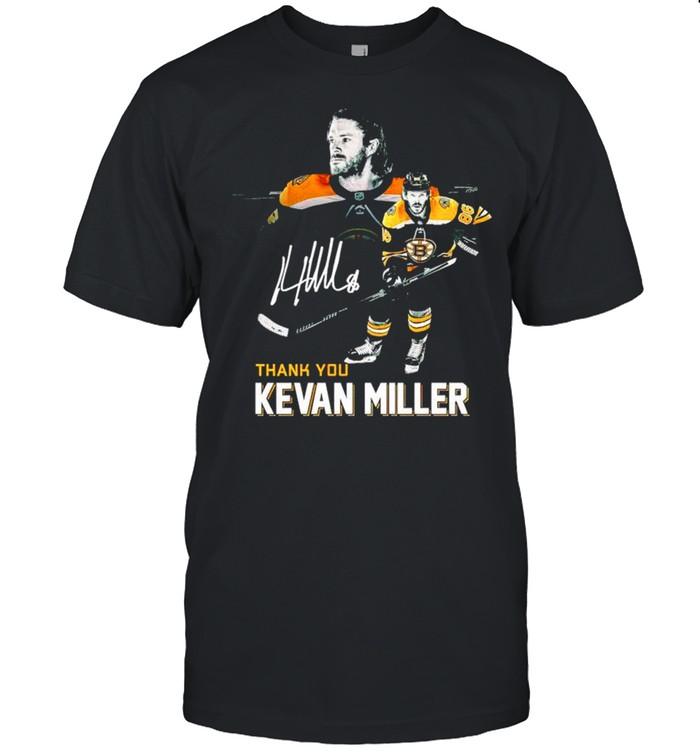 Boston Bruins thank you Kevan Miller signature shirt Classic Men's T-shirt