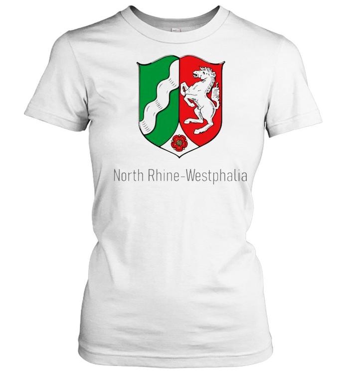 north rhine westphalia shirt classic womens t shirt