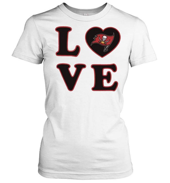tampa bay buccaneers 47 love club shirt classic womens t shirt