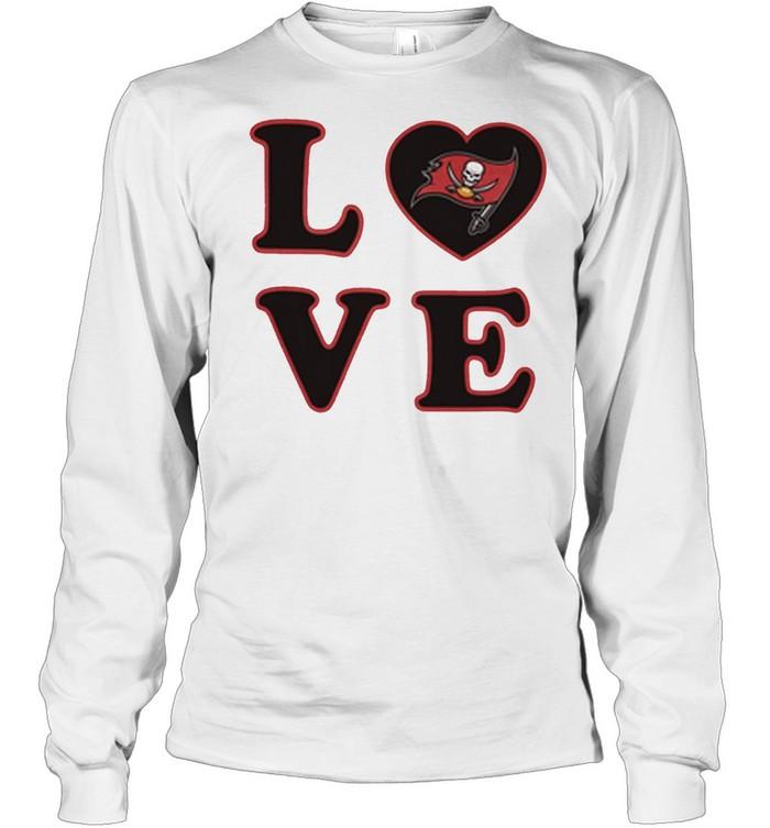 Tampa Bay Buccaneers 47 Love Club shirt Long Sleeved T-shirt