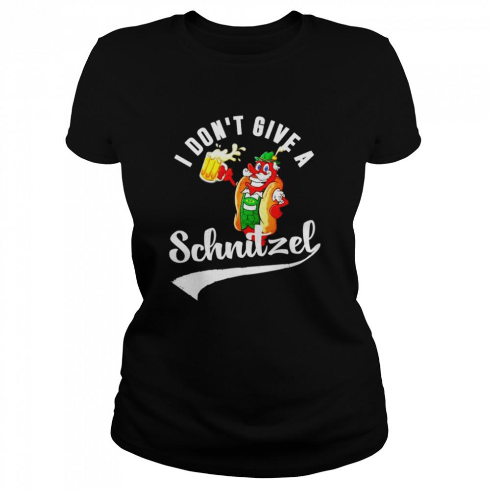 I don't give a Schnitzel shirt Classic Women's T-shirt