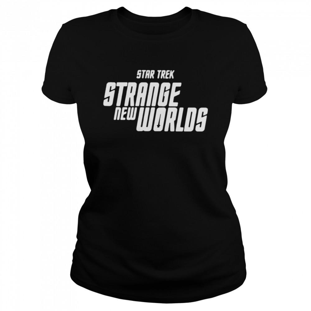 Star Trek Strange New Worlds T-shirt Classic Women's T-shirt
