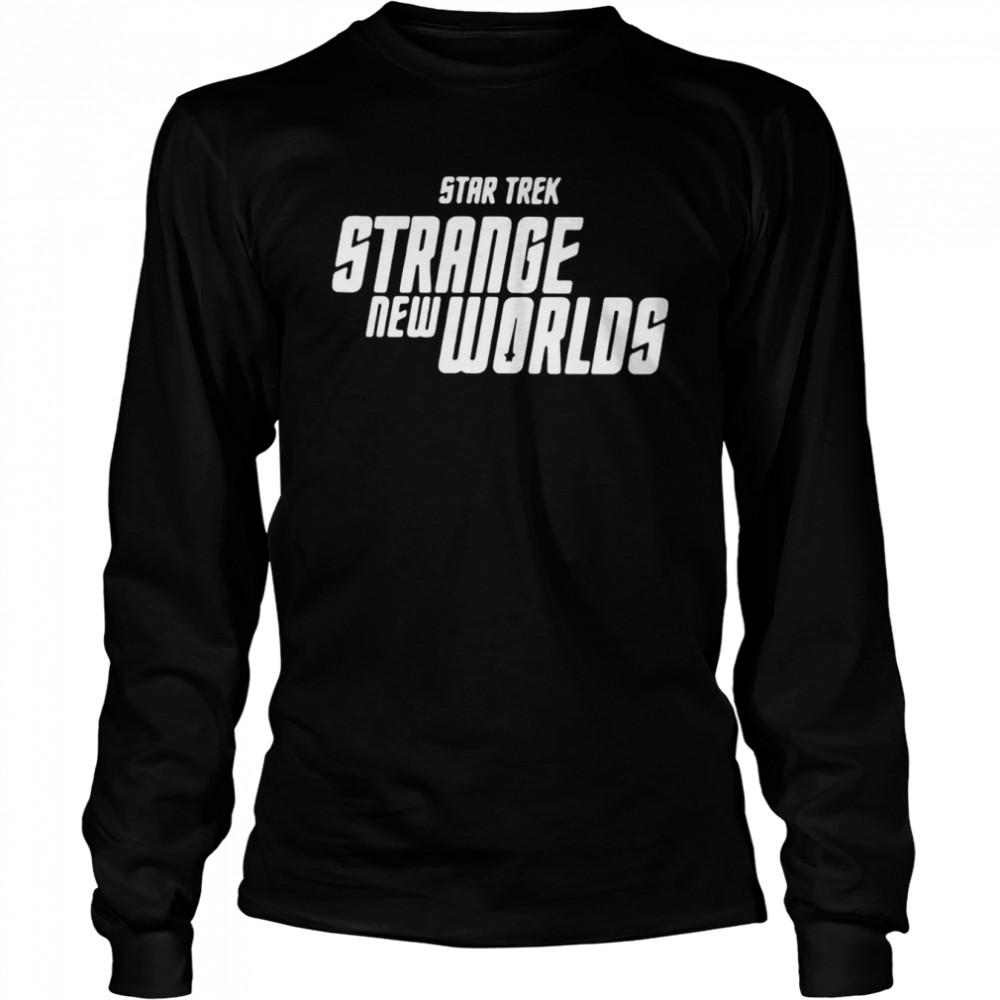 Star Trek Strange New Worlds T-shirt Long Sleeved T-shirt