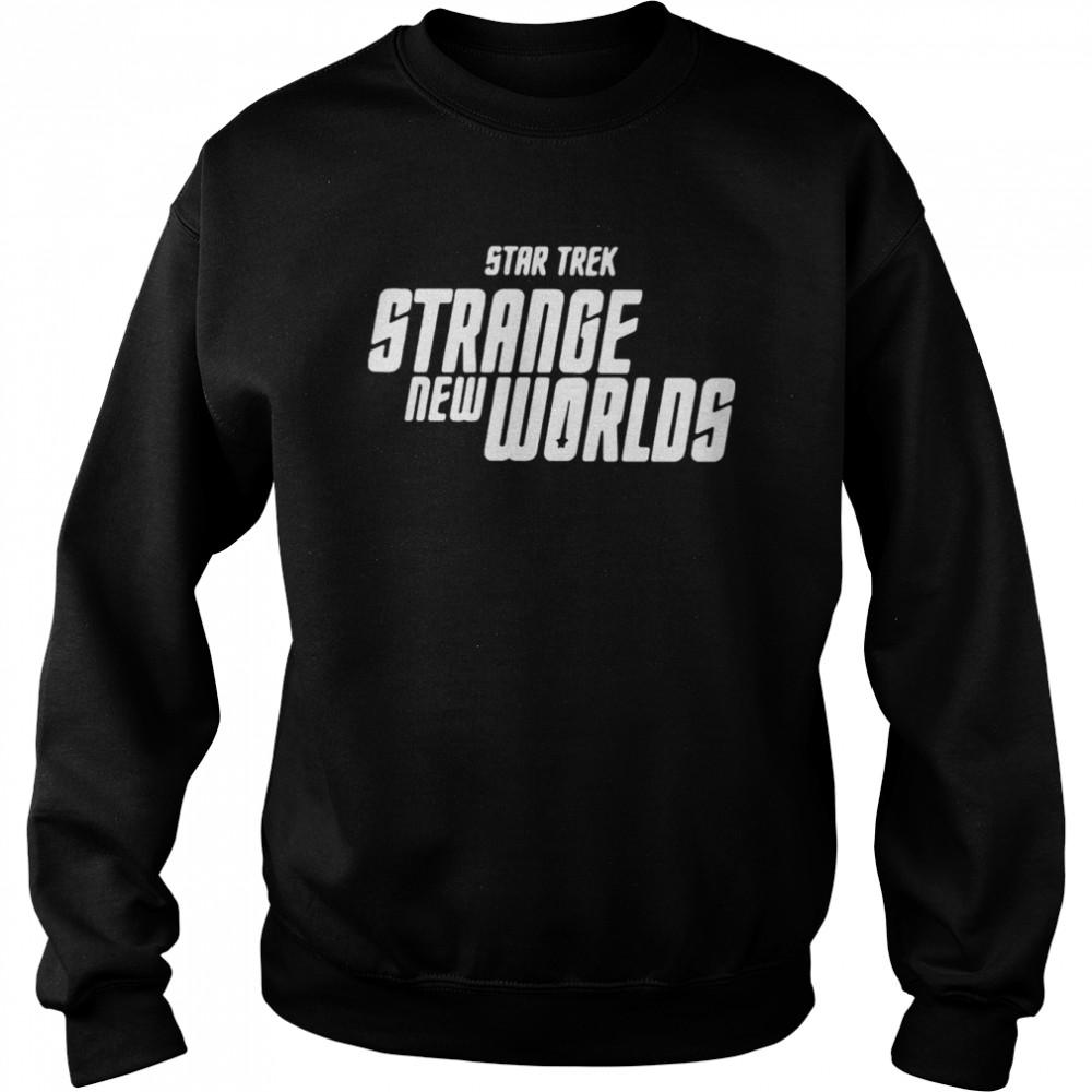 Star Trek Strange New Worlds T-shirt Unisex Sweatshirt
