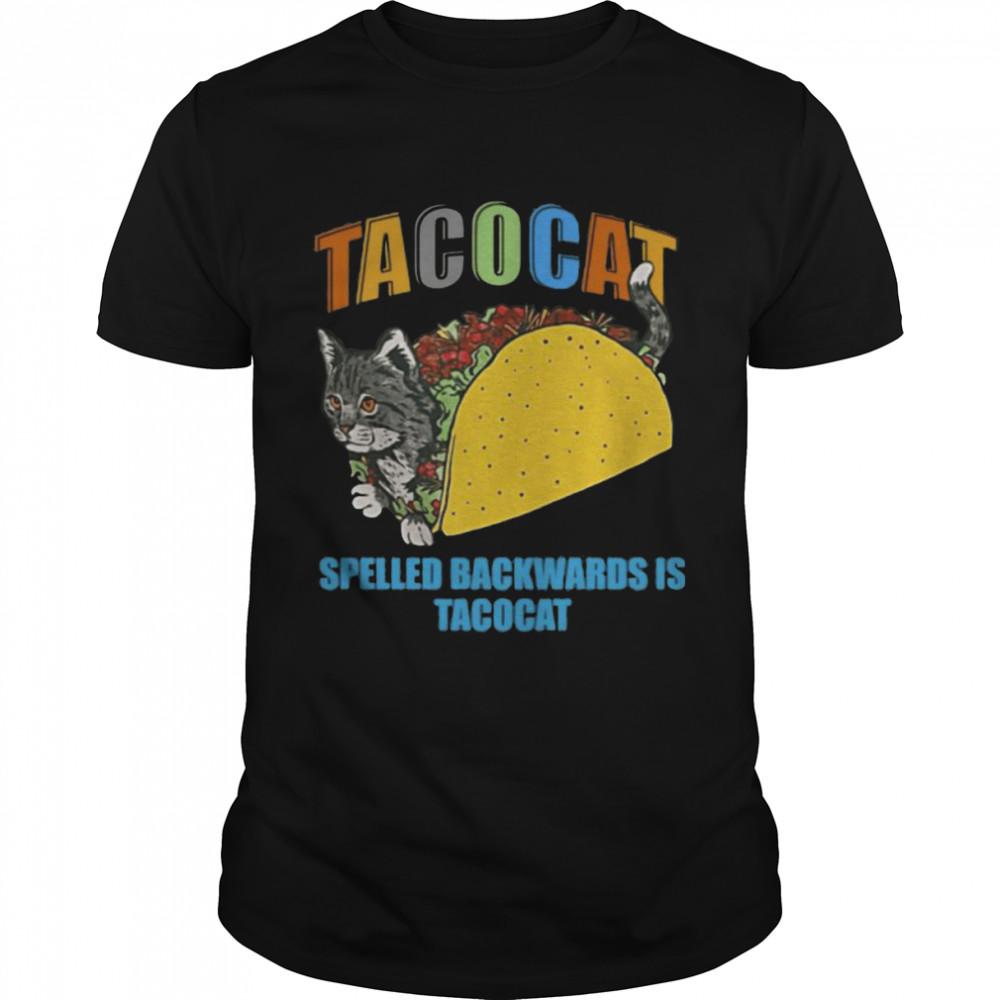 Tacocat spelled backwards is tacocat shirt Classic Men's T-shirt