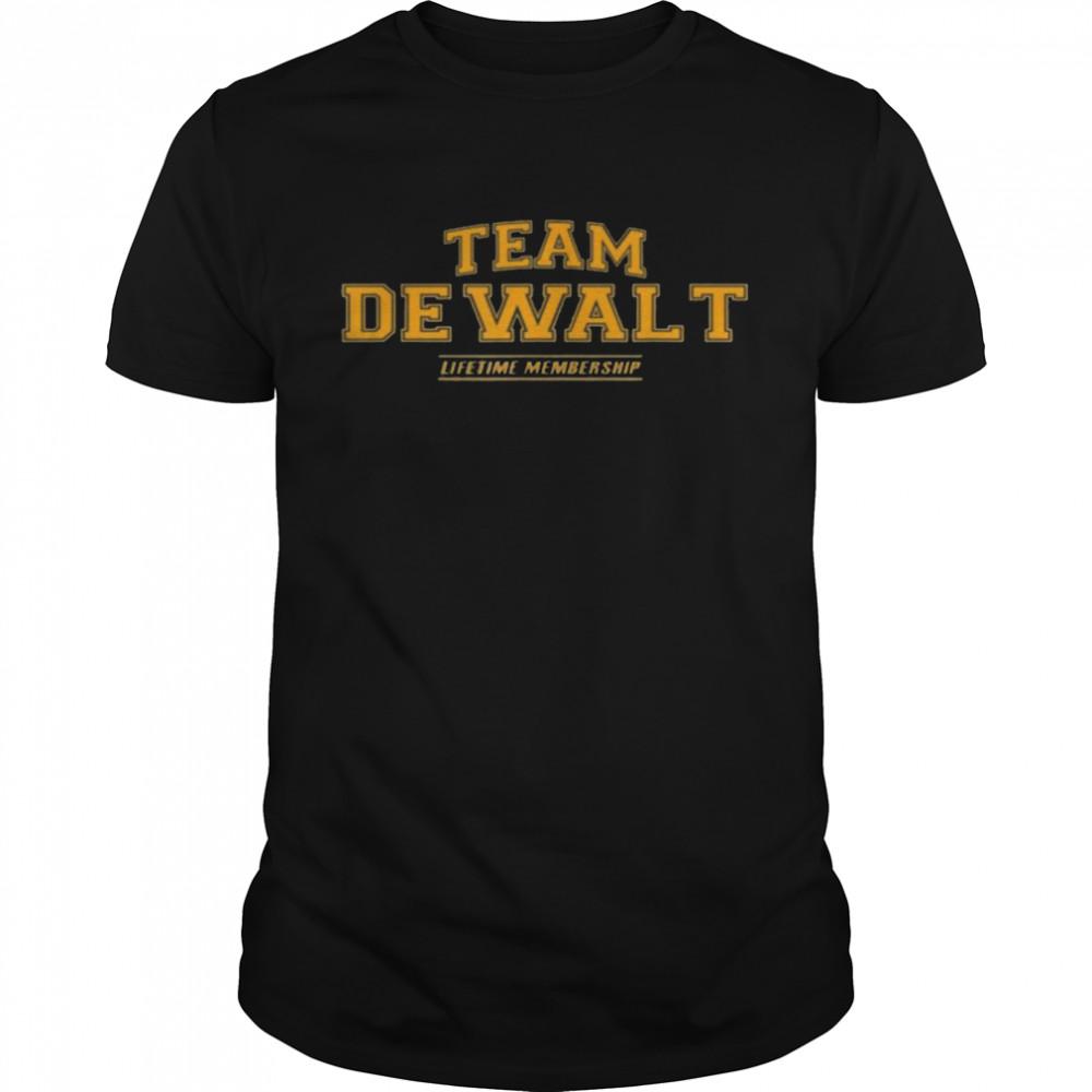 Team Dewalt Proud Family Surname, Last Name  Classic Men's T-shirt