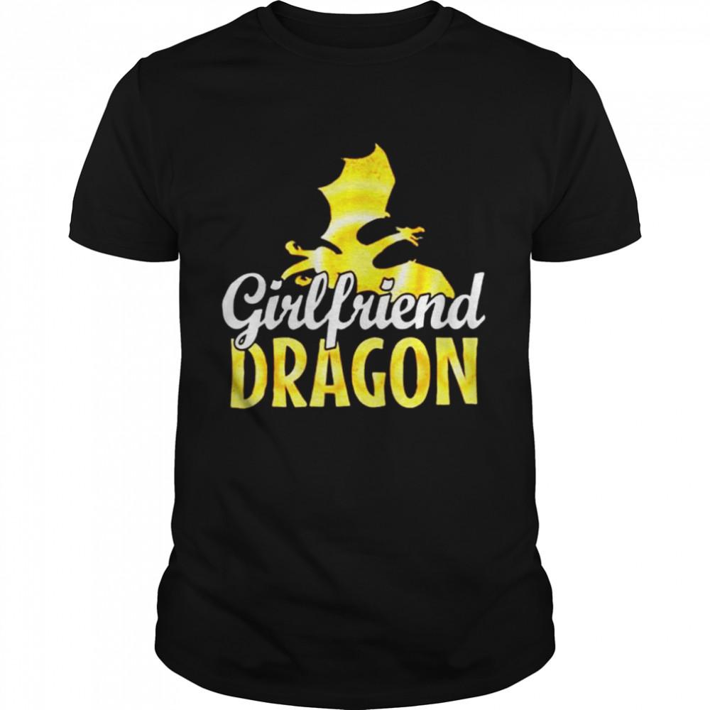 Girlfriend Dragon Lover T  Classic Men's T-shirt
