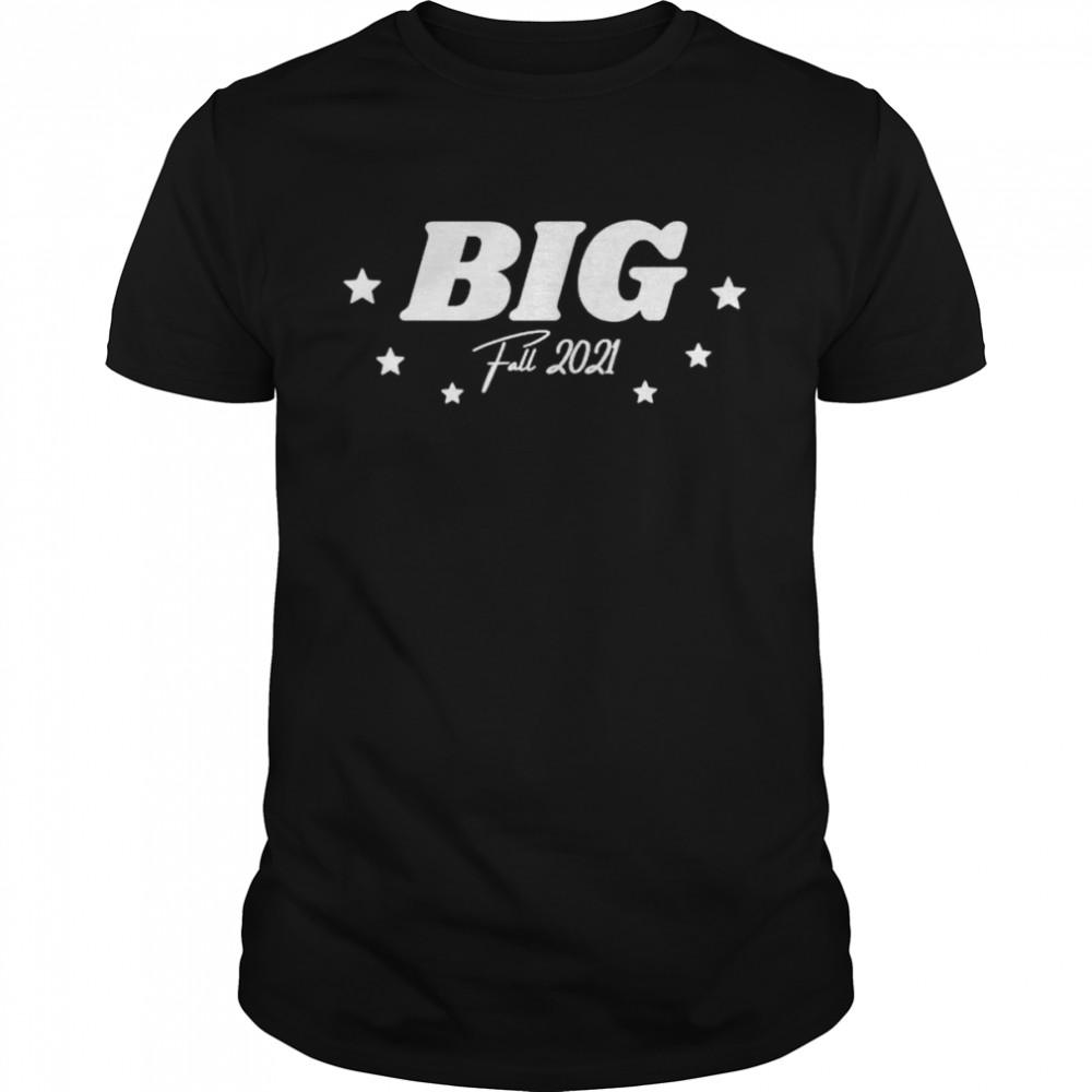 Sorority Big Little Sister Reveal For Big Fall 2021  Classic Men's T-shirt