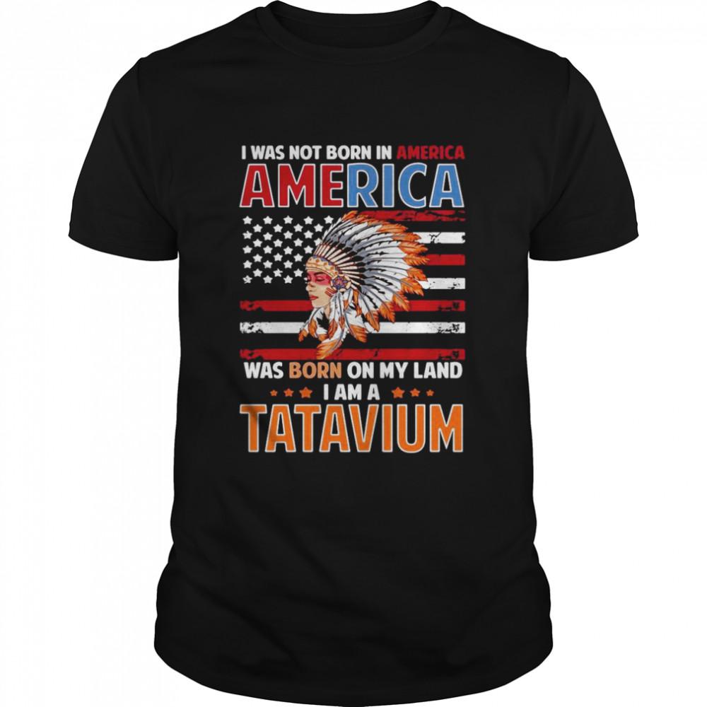Tatavium Native American Girl Tatavium Female Related T-shirt Classic Men's T-shirt